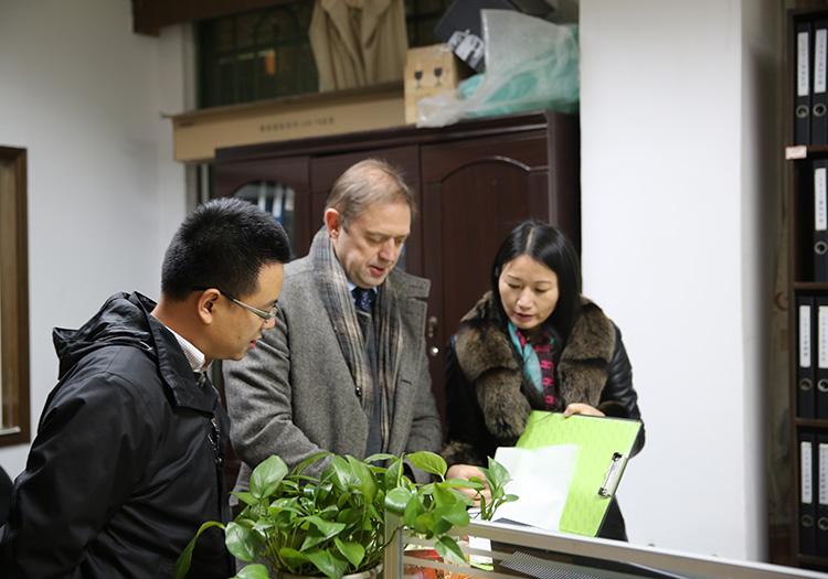 鑫钻大中华区总裁来访